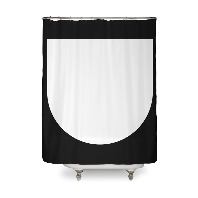 U Home Shower Curtain by Iterative Work