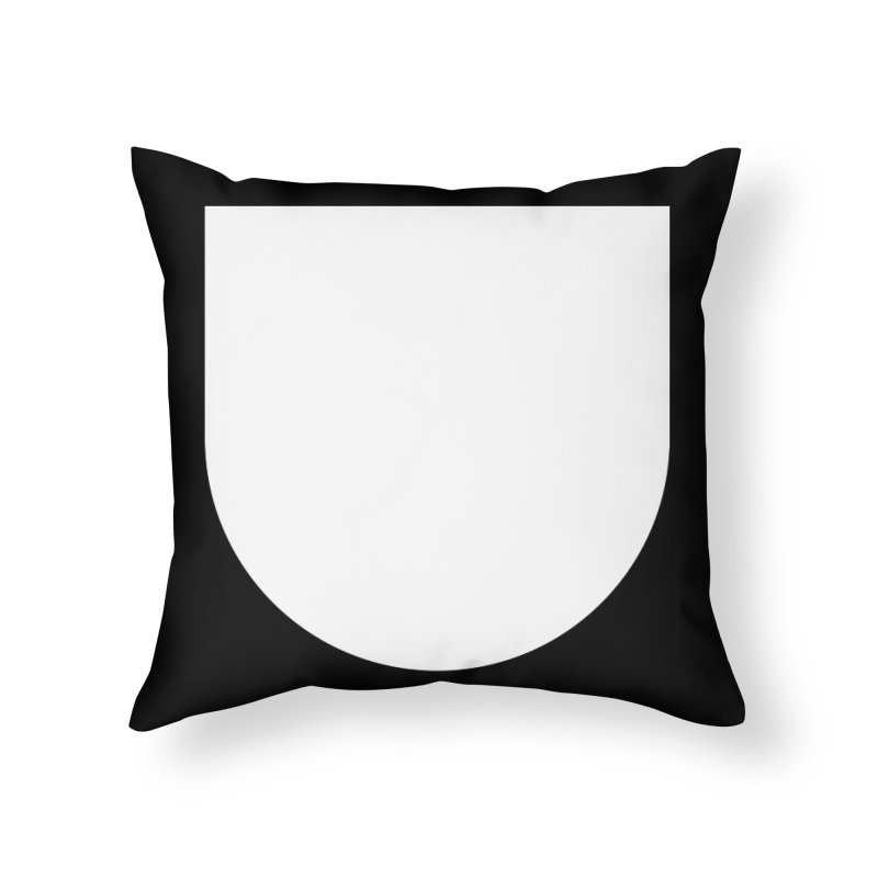 U Home Throw Pillow by Iterative Work