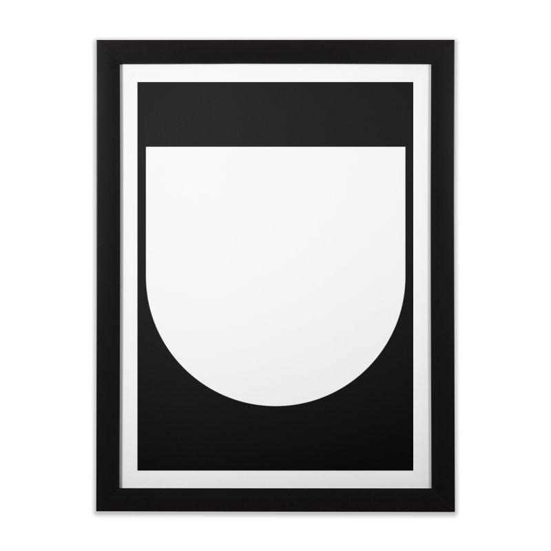 U Home Framed Fine Art Print by Iterative Work
