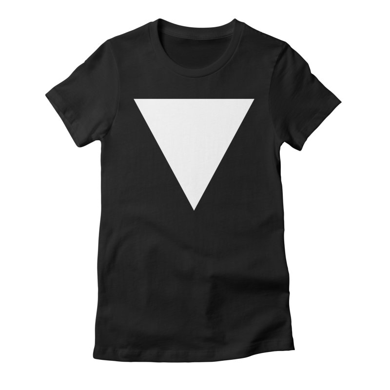V Women's Fitted T-Shirt by Iterative Work