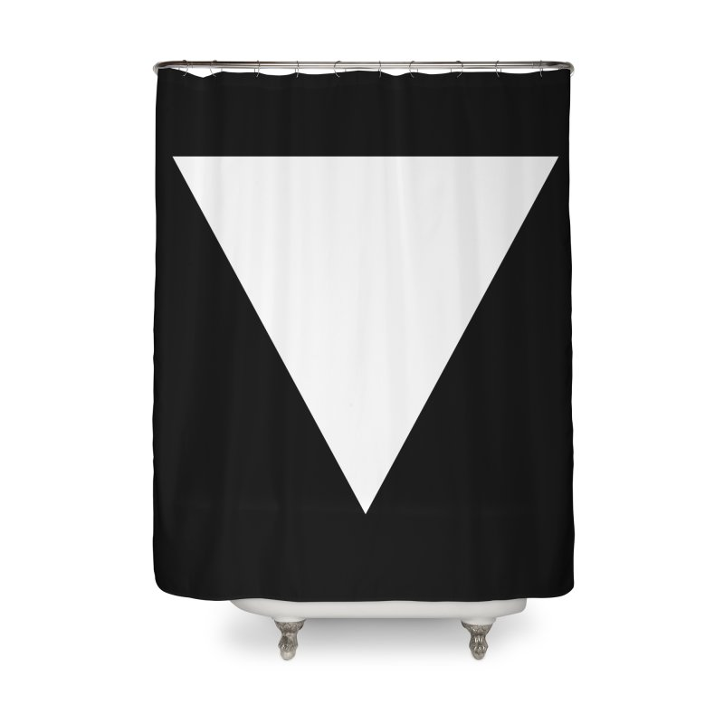 V Home Shower Curtain by Iterative Work