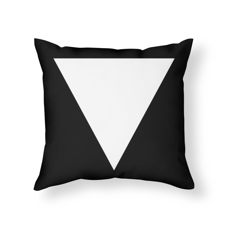 V Home Throw Pillow by Iterative Work