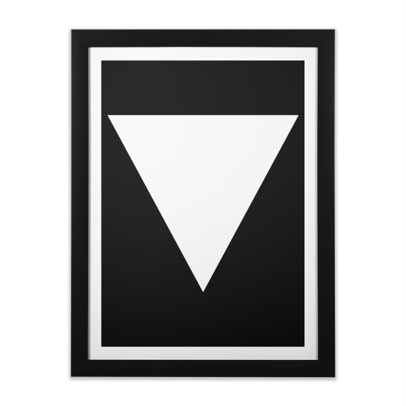 V Home Framed Fine Art Print by Iterative Work