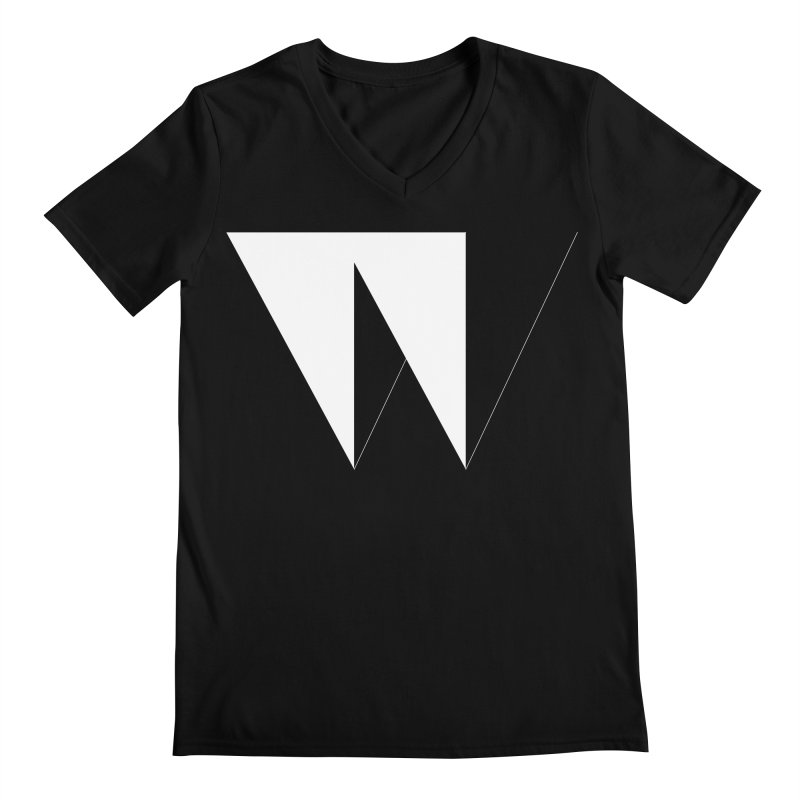 W Men's V-Neck by Iterative Work