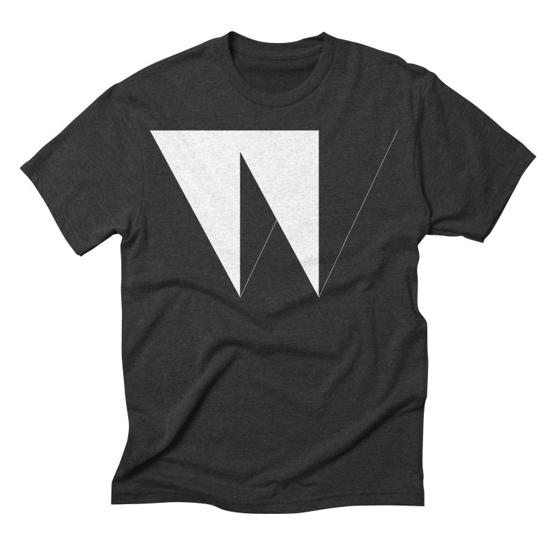 W Men's Triblend T-shirt by Iterative Work