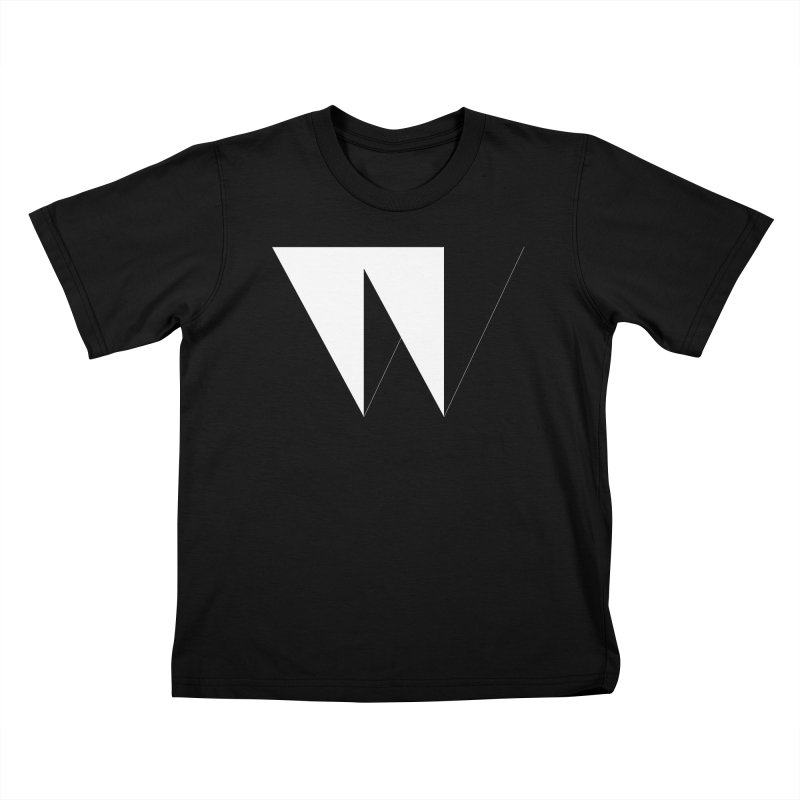 W Kids T-shirt by Iterative Work