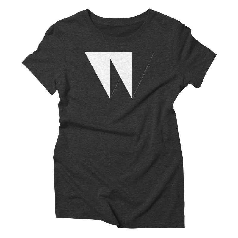 W Women's Triblend T-shirt by Iterative Work