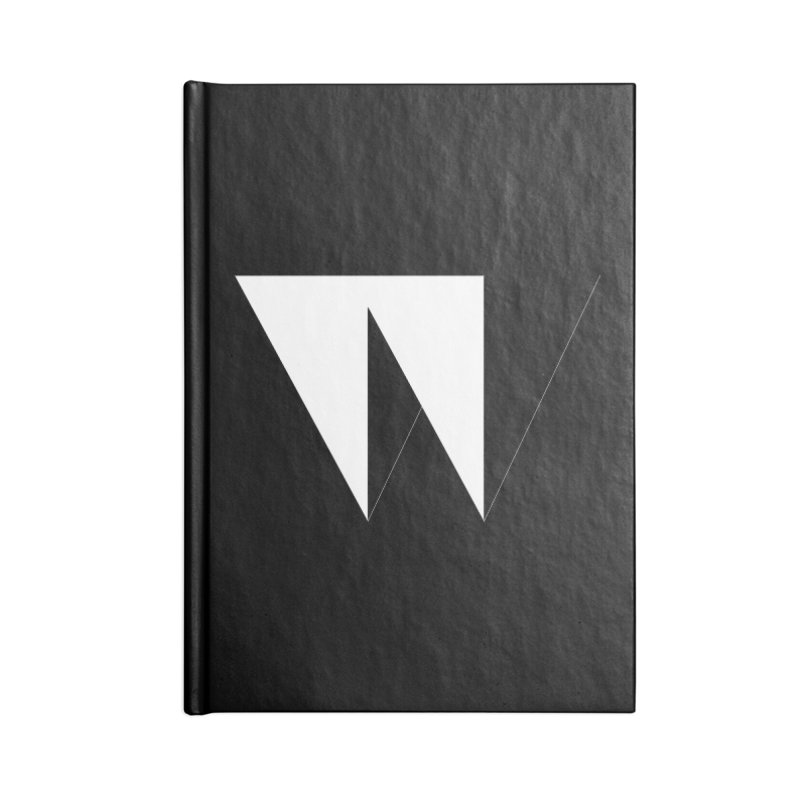 W Accessories Blank Journal Notebook by Iterative Work