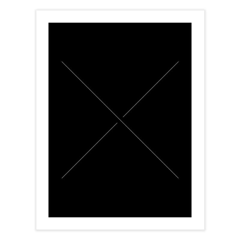 X Home Fine Art Print by Iterative Work