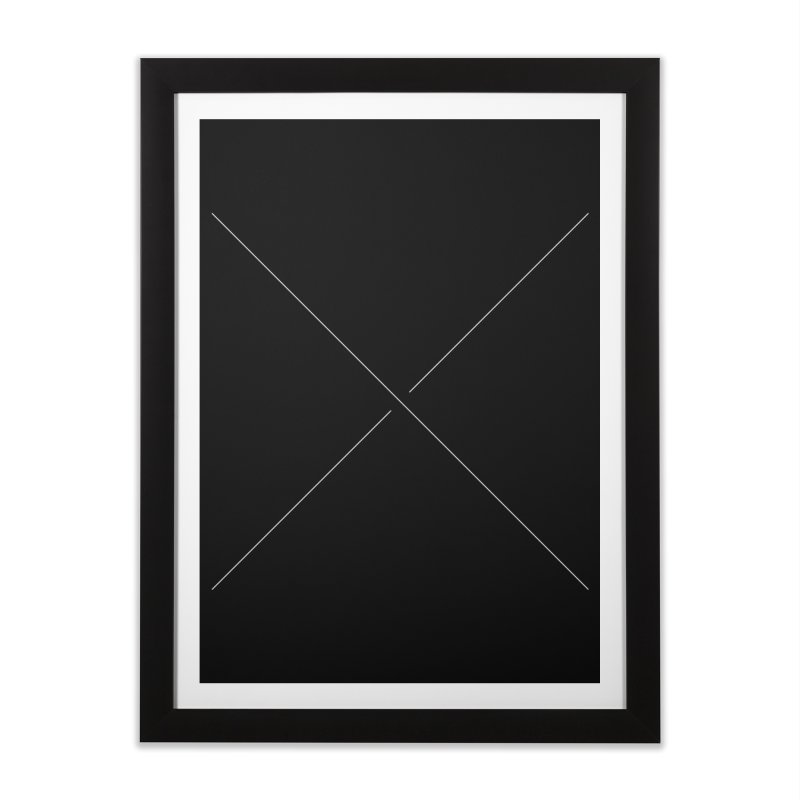 X Home Framed Fine Art Print by Iterative Work