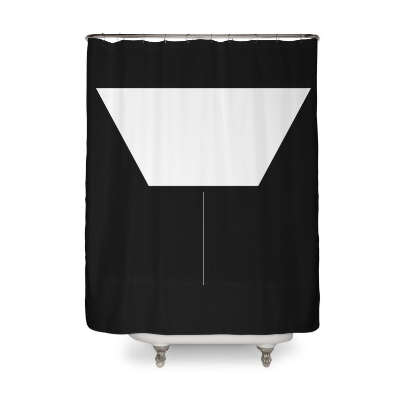 Y Home Shower Curtain by Iterative Work