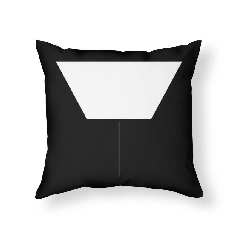 Y Home Throw Pillow by Iterative Work