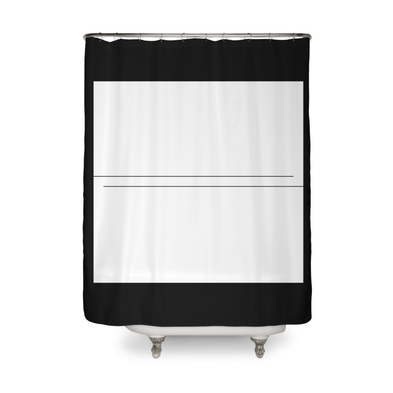 Z Home Shower Curtain by Iterative Work