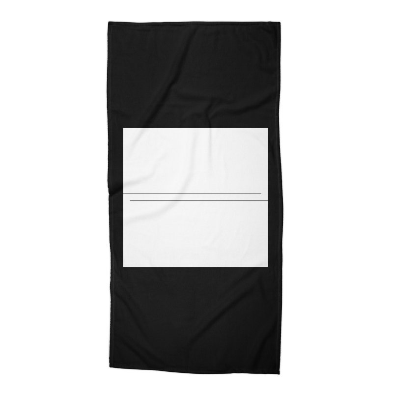 Z Accessories Beach Towel by Iterative Work
