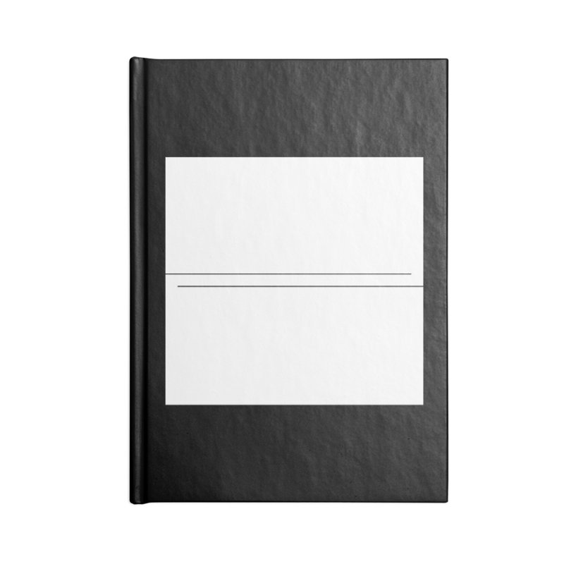 Z Accessories Blank Journal Notebook by Iterative Work