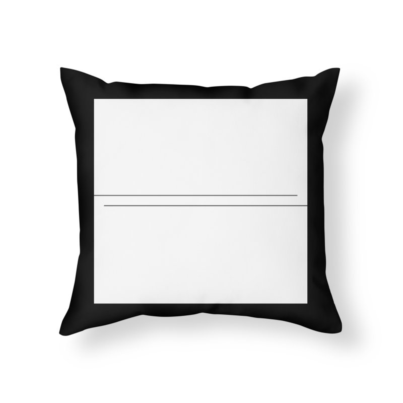 Z Home Throw Pillow by Iterative Work