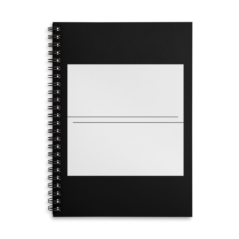 Z Accessories Lined Spiral Notebook by Iterative Work