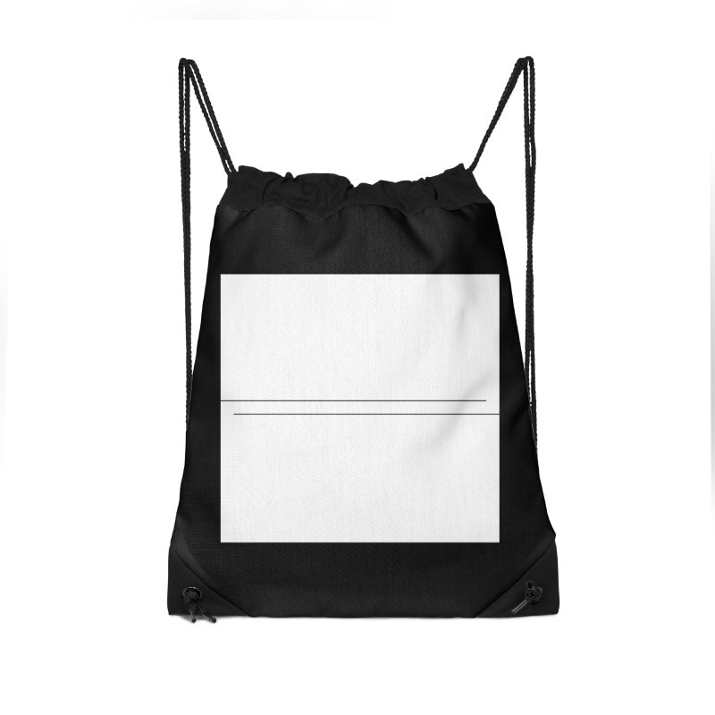 Z Accessories Drawstring Bag Bag by Iterative Work