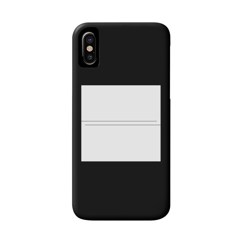 Z Accessories Phone Case by Iterative Work