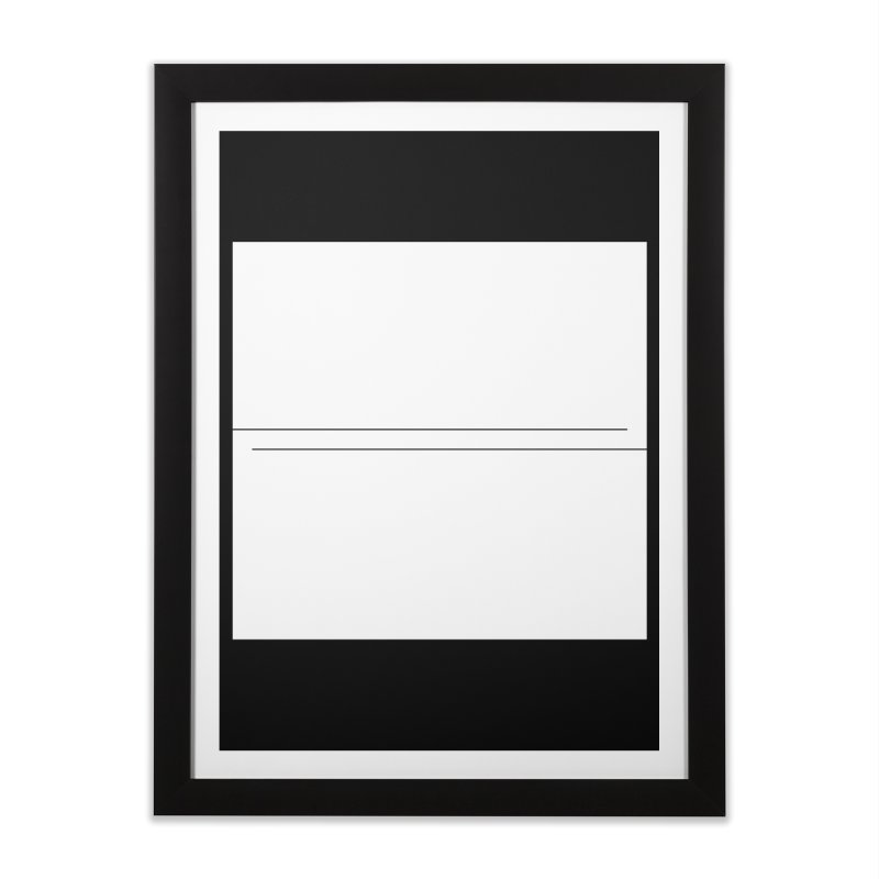 Z Home Framed Fine Art Print by Iterative Work