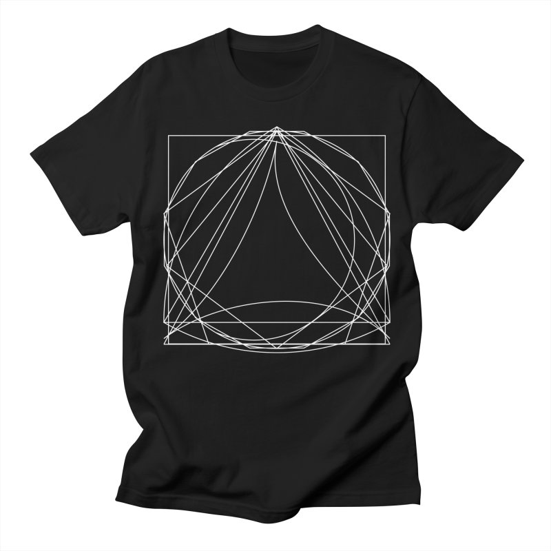 Volume 2.9—9 Shapes in Men's Regular T-Shirt Black by Iterative Work