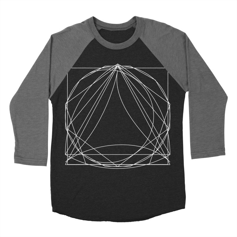 Volume 2.9—9 Shapes Men's Baseball Triblend Longsleeve T-Shirt by Iterative Work