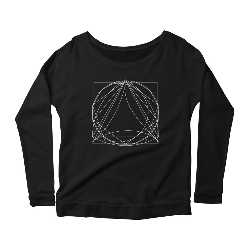 Volume 2.9—9 Shapes Women's Longsleeve Scoopneck  by Iterative Work
