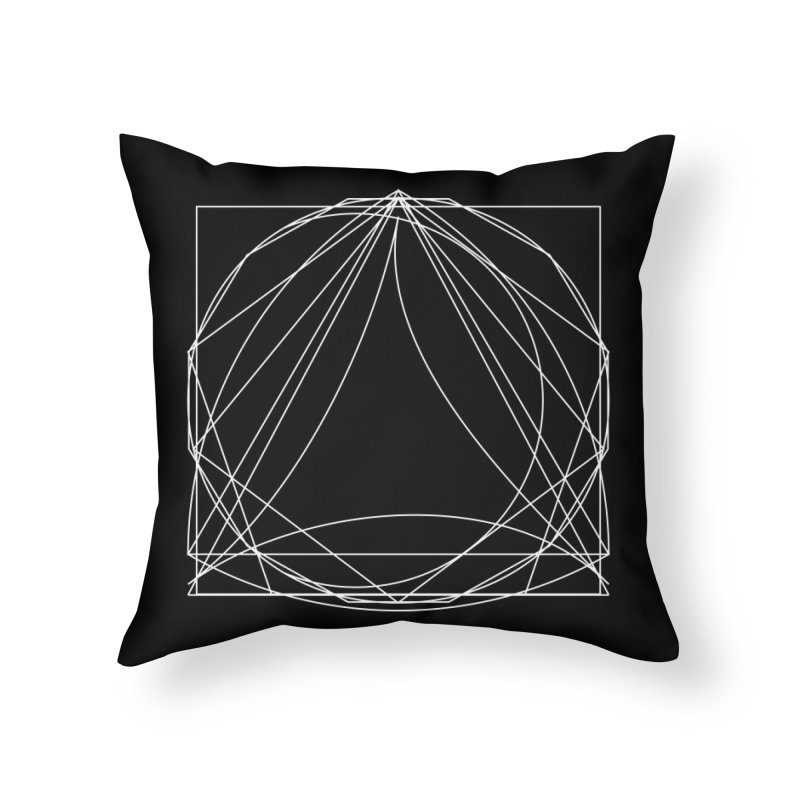 Volume 2.9—9 Shapes Home Throw Pillow by Iterative Work