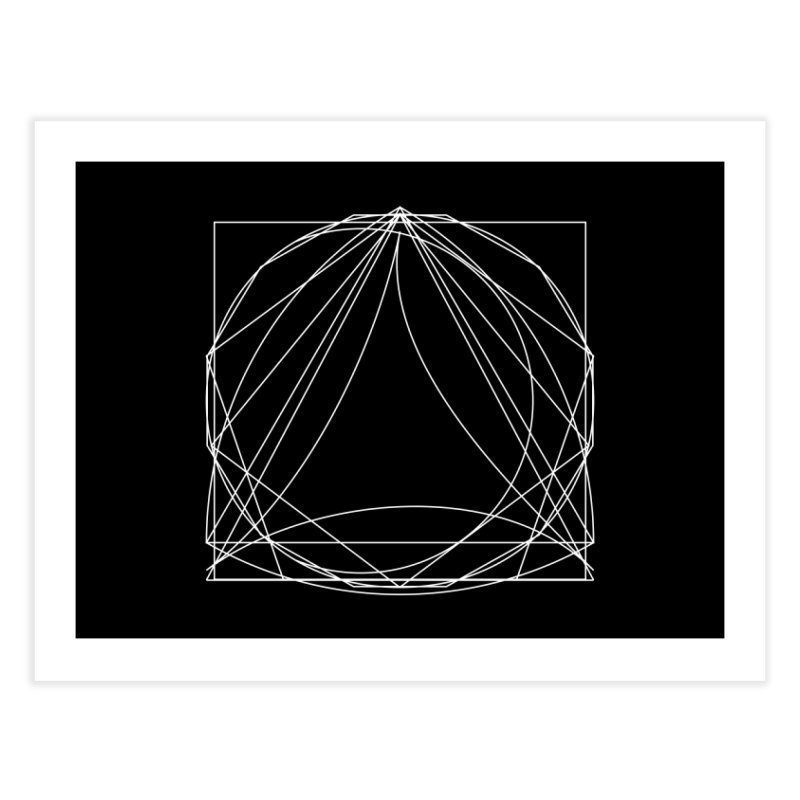 Volume 2.9—9 Shapes Home Fine Art Print by Iterative Work