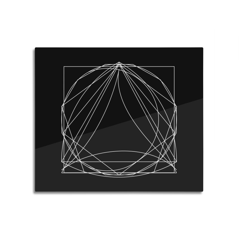 Volume 2.9—9 Shapes Home Mounted Aluminum Print by Iterative Work