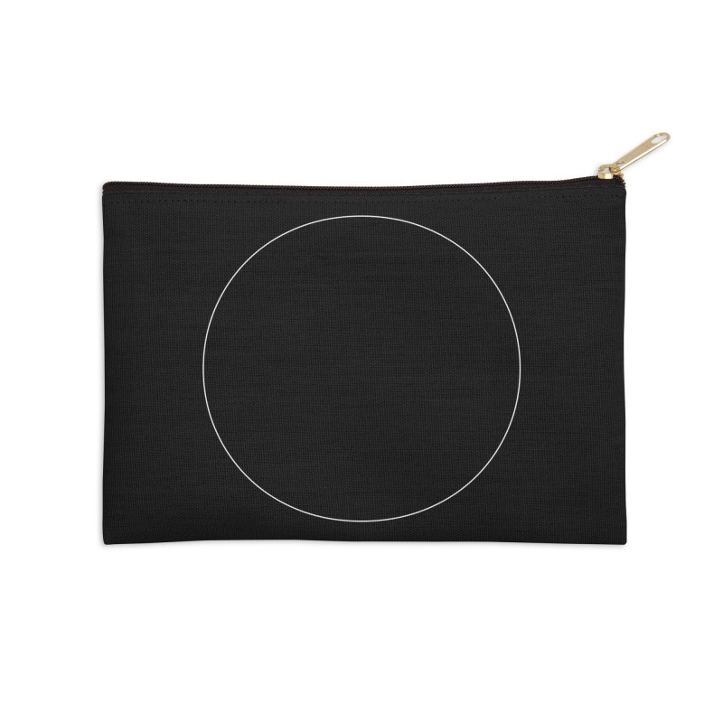 Volume 2.9.01—Circle Accessories Zip Pouch by Iterative Work