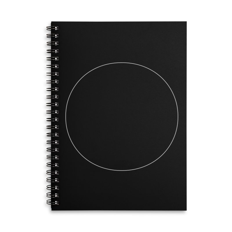Volume 2.9.01—Circle Accessories Lined Spiral Notebook by Iterative Work