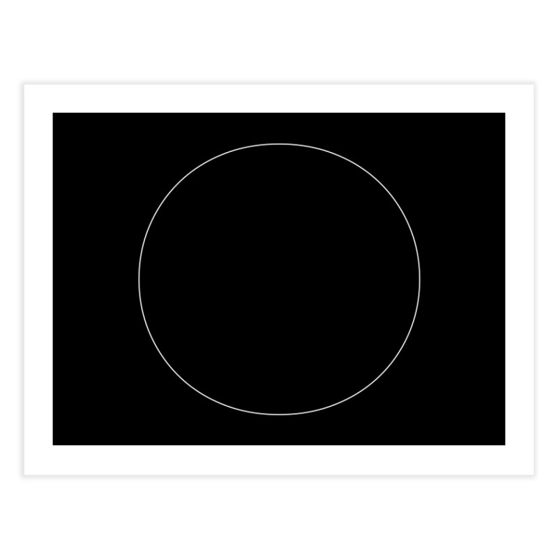 Volume 2.9.01—Circle Home Fine Art Print by Iterative Work