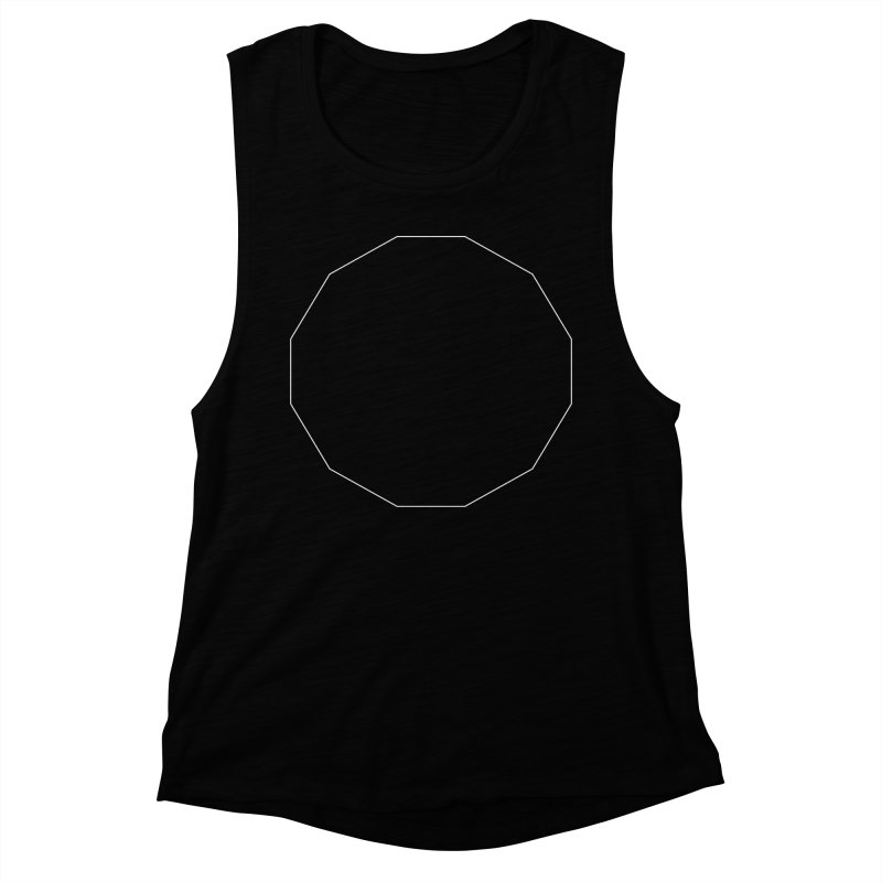 Volume 2.9.02—Dodecagon Women's Muscle Tank by Iterative Work