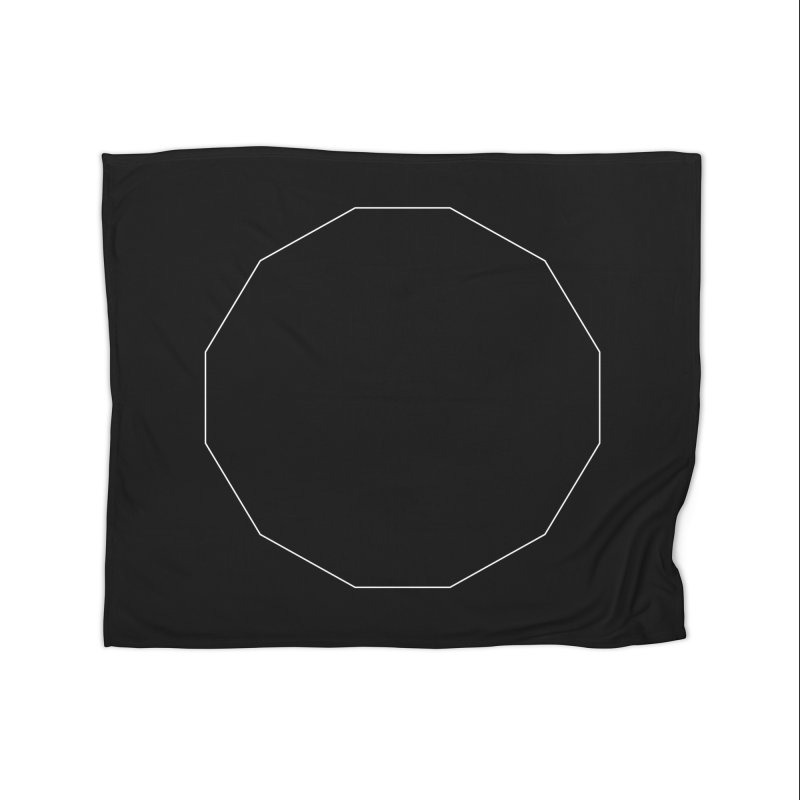 Volume 2.9.02—Dodecagon Home Fleece Blanket Blanket by Iterative Work