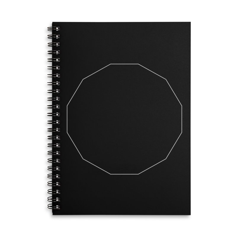 Volume 2.9.02—Dodecagon Accessories Lined Spiral Notebook by Iterative Work