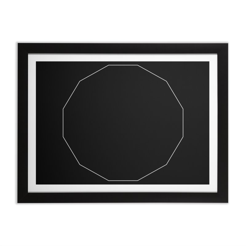 Volume 2.9.02—Dodecagon Home Framed Fine Art Print by Iterative Work