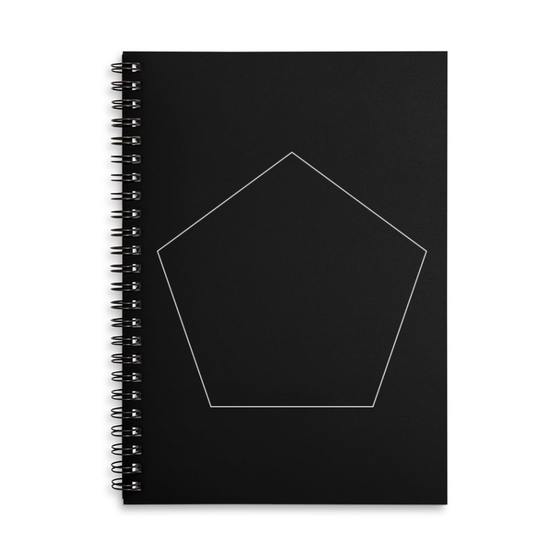 Volume 2.9.03—Pentagon Accessories Lined Spiral Notebook by Iterative Work