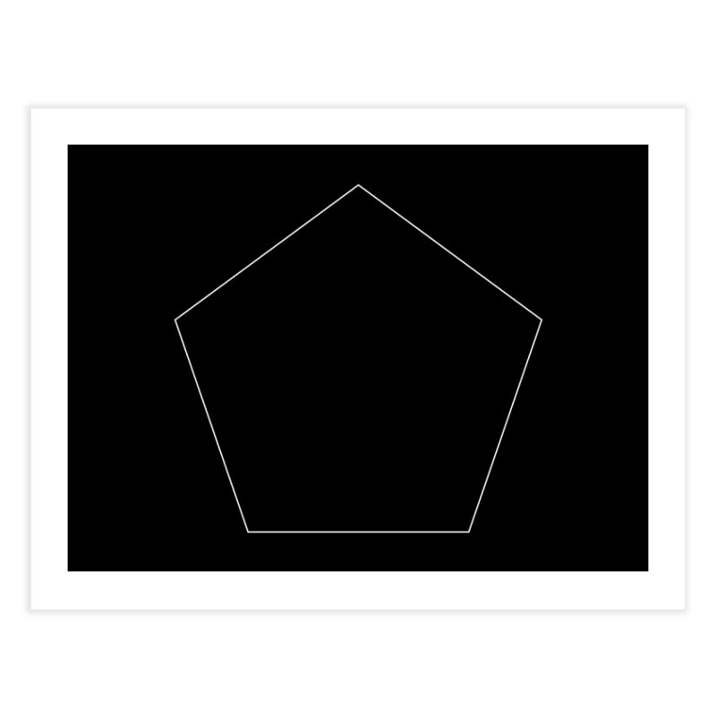 Volume 2.9.03—Pentagon Home Fine Art Print by Iterative Work