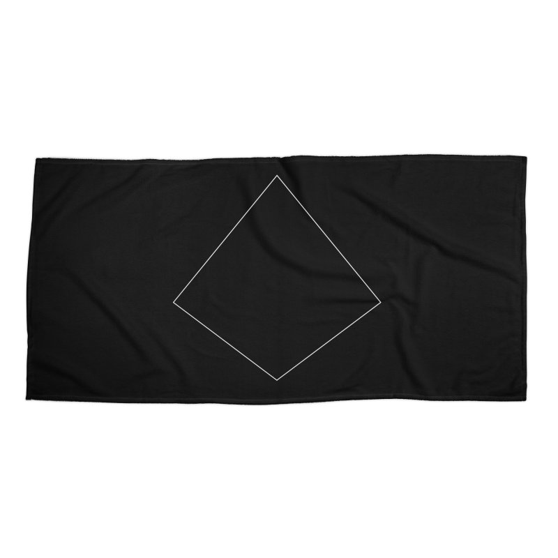 Volume 2.9.04—Right Kite Quadrilateral Accessories Beach Towel by Iterative Work