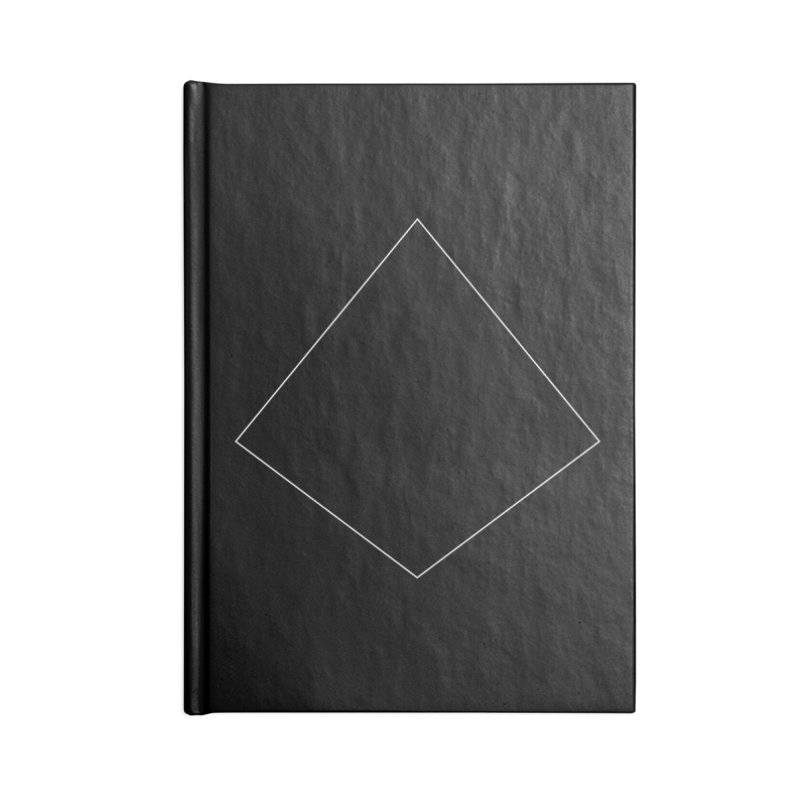 Volume 2.9.04—Right Kite Quadrilateral Accessories Blank Journal Notebook by Iterative Work