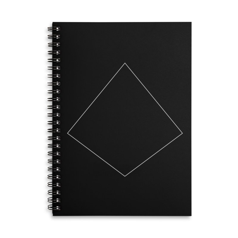 Volume 2.9.04—Right Kite Quadrilateral Accessories Lined Spiral Notebook by Iterative Work