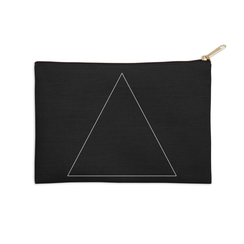 Volume 2.9.06—Equilateral Triangle Accessories Zip Pouch by Iterative Work