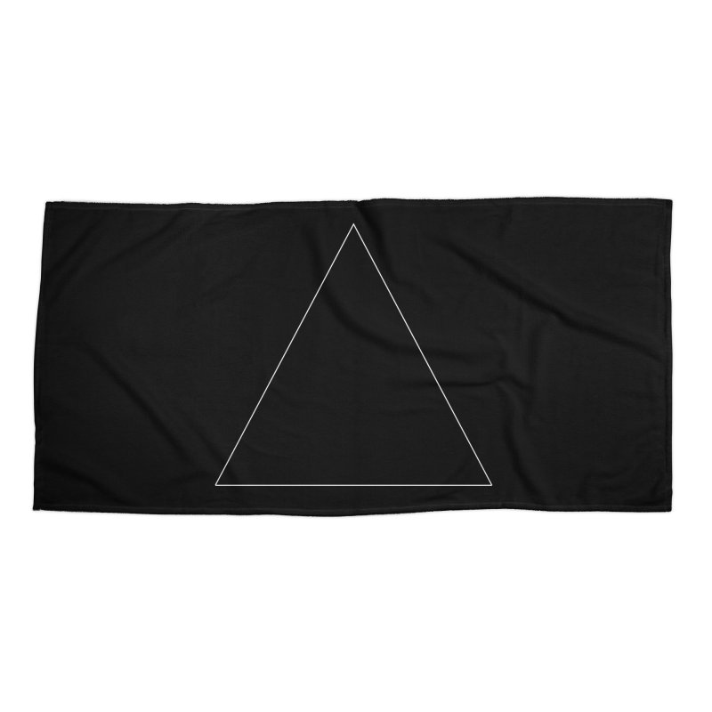 Volume 2.9.06—Equilateral Triangle Accessories Beach Towel by Iterative Work