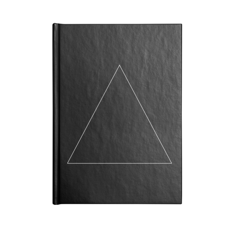 Volume 2.9.06—Equilateral Triangle Accessories Blank Journal Notebook by Iterative Work