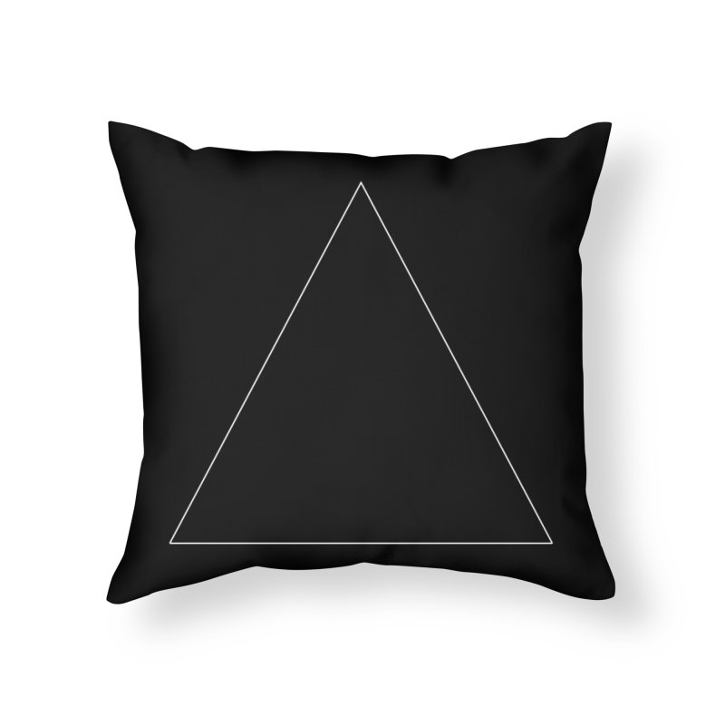 Volume 2.9.06—Equilateral Triangle Home Throw Pillow by Iterative Work