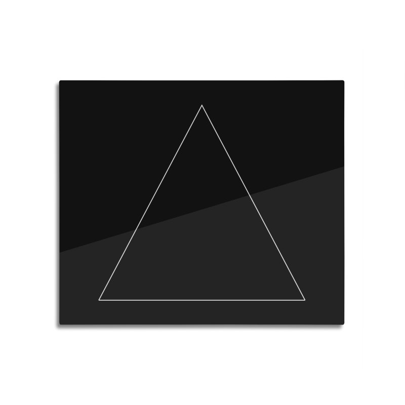 Volume 2.9.06—Equilateral Triangle Home Mounted Aluminum Print by Iterative Work