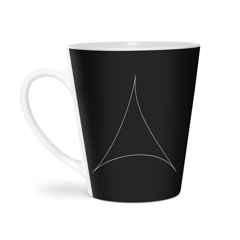 Volume 2.9.07—Pseudotriangle Accessories Latte Mug by Iterative Work