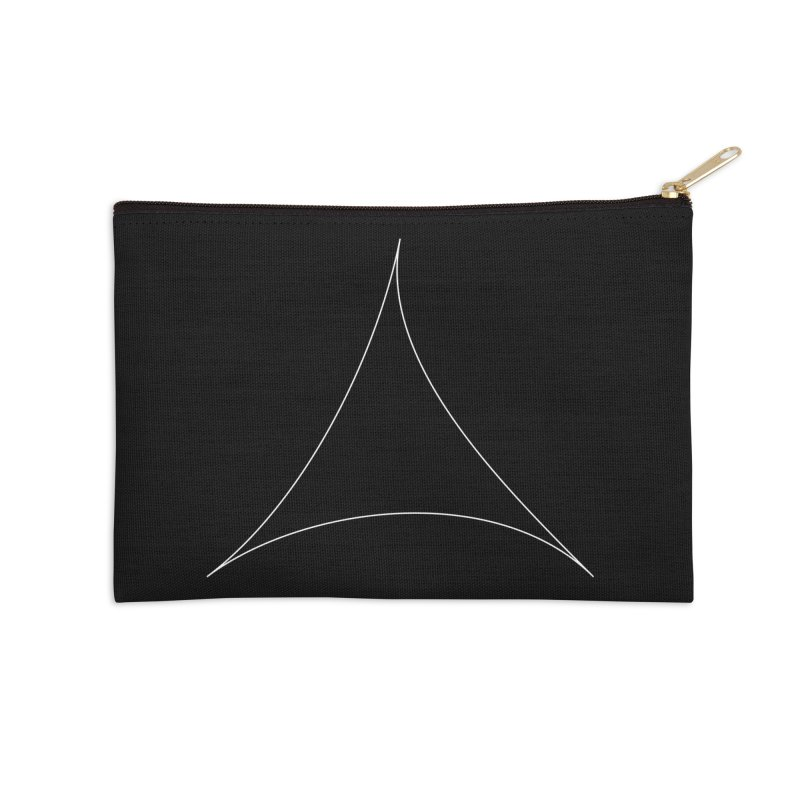 Volume 2.9.07—Pseudotriangle Accessories Zip Pouch by Iterative Work