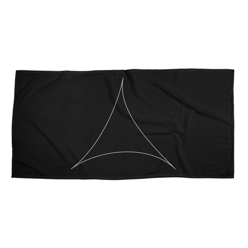 Volume 2.9.07—Pseudotriangle Accessories Beach Towel by Iterative Work